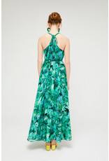 Exquise Sleeveless  Green Maxi with Rope Detail Straps