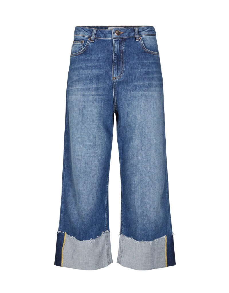 Mos Mosh Bailey Turn-up Jeans