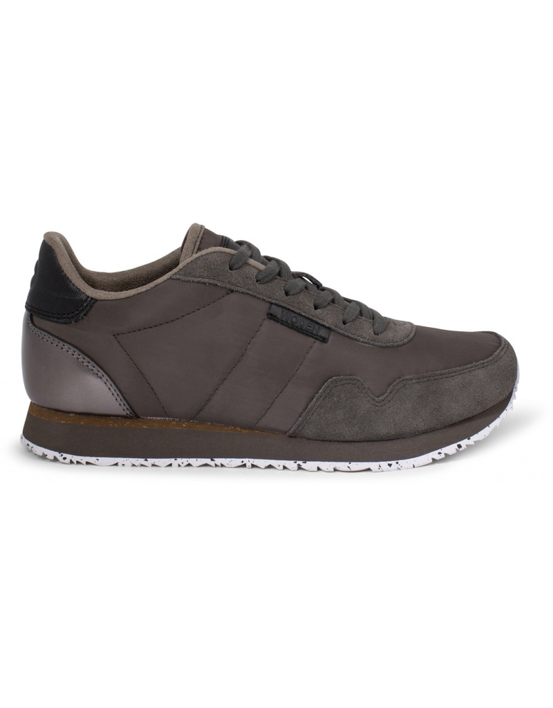 Woden Woden - Nora II - Leather & Canvas Trainer