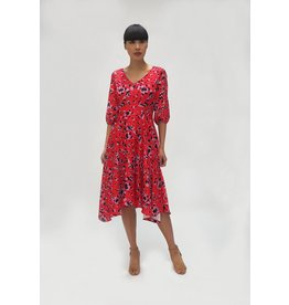 Fee G Fee g - 3/4 Sleeve Animal Dress