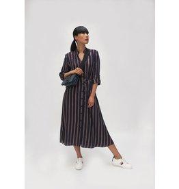 Fee G Fee g - Stripe Shirt Dress