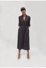 Fee G Stripe Shirt Dress