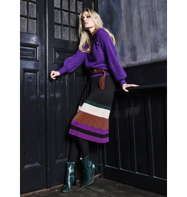 10 Feet Lurex Fine Knit Pleated Skirt