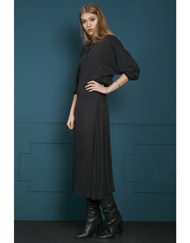10 Feet Midi Dress with Fitted Waist