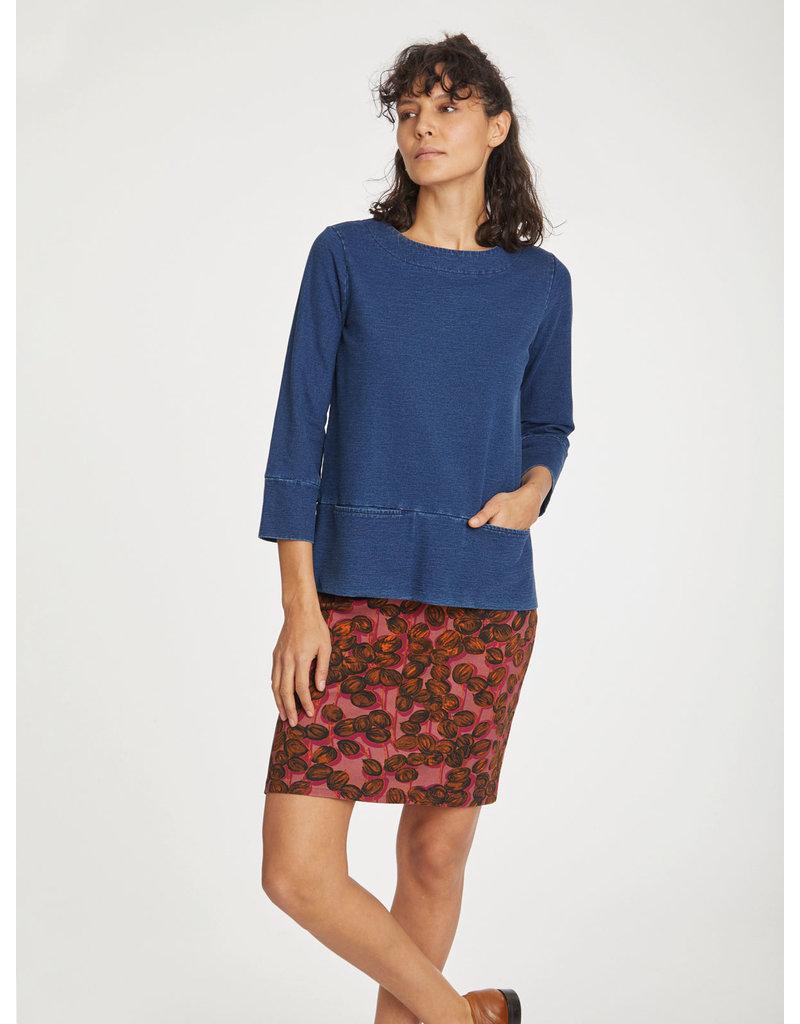 Thought Clothing Ilona Organic Cotton Stretch Skirt