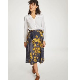 Thought Clothing Birgit Floral Print Tencel Skirt