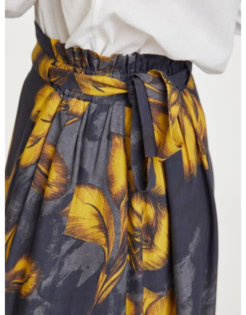 Thought Clothing Birgit Floral Print Tencel Skirt