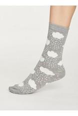 Thought Clothing Rainy Cloud Bamboo Socks