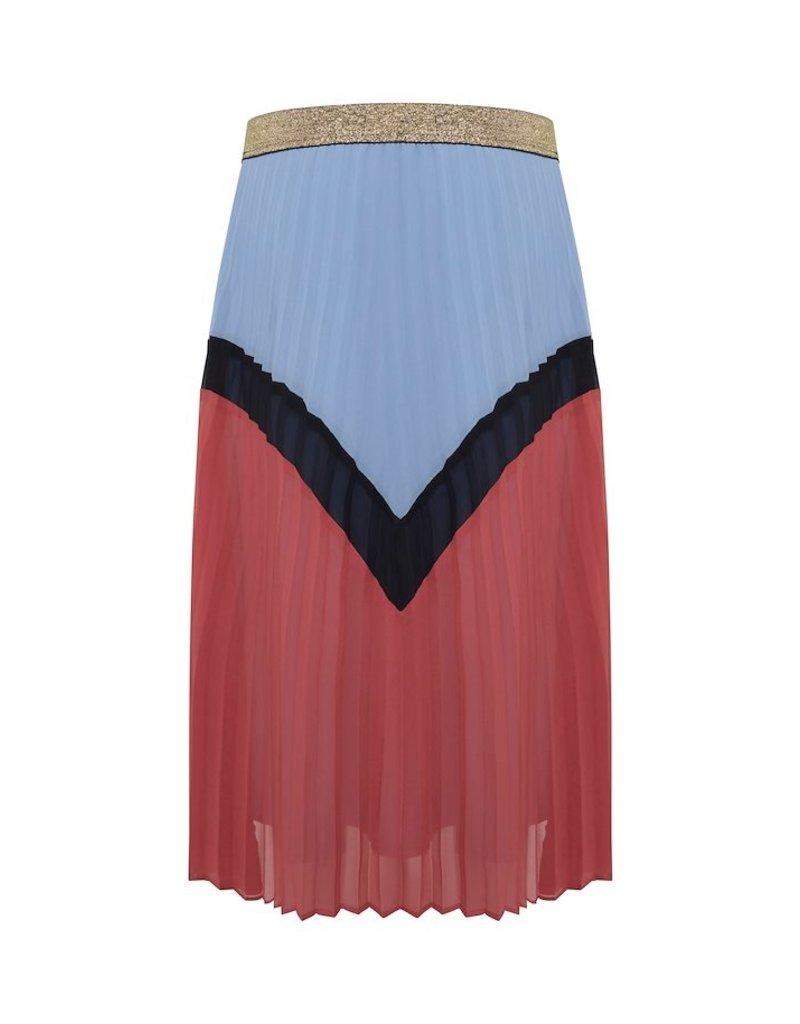 ICHI Kensley Country Blue Skirt