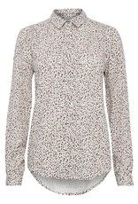 ICHI Long Sleeved Patterned  Yvonne Shirt