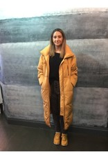 ICHI Spruce Yellow Ihhaley Down Filled Coat