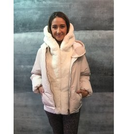OOF Eco Faux Fur Hood Gillet