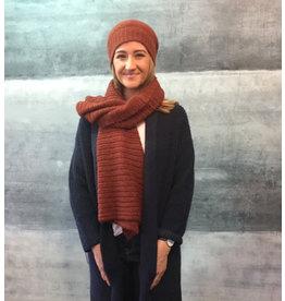 Humility Ribbed Knit Bonnet