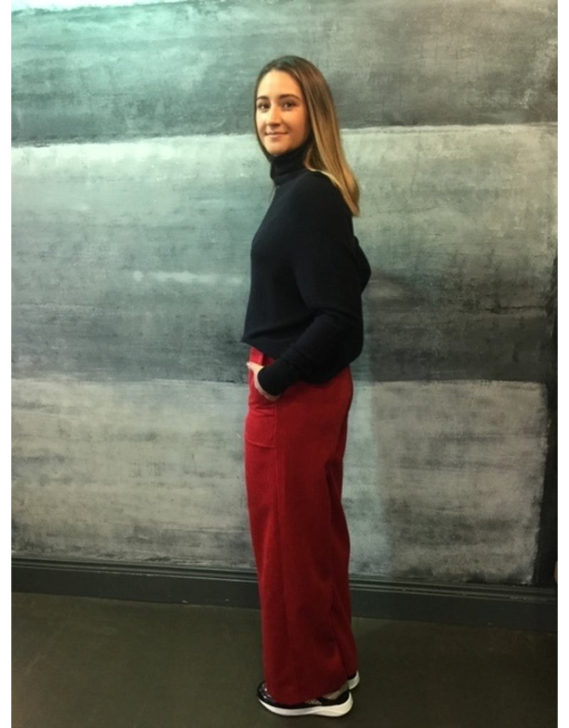 Humility Wide Leg Cord Trousers