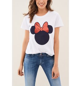 Salsa Jeans Minnie Bow T Shirt