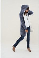 Salsa Jeans Knitted Double Breasted Cardigan Coat
