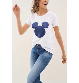 Salsa Jeans Mickey Mouse Glitter  T Shirt