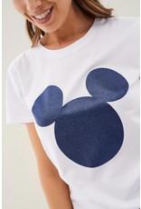 Salsa Jeans Mickey Mouse Glitter  T Shirt