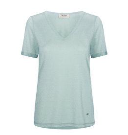 Mos Mosh Casio V-Neck Short sleeve T-Shirt