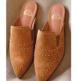 Mos Mosh Boston Suede Flat Shoe