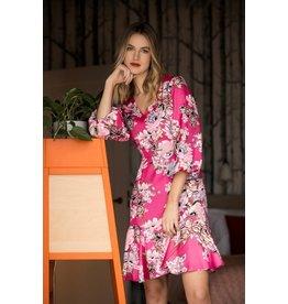 Fee G V-Neck Flower Dress