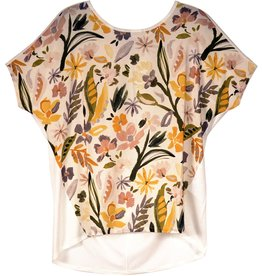 La Fee Maraboutee Watercolour Printed T Blouse