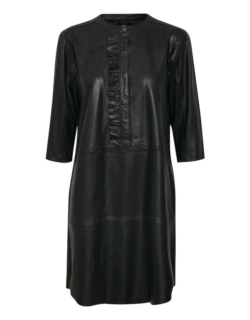 Culture Culture - CUALINA LEATHER DRESS
