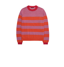 10 Feet Round Neck Long Sleeve Striped Jumper