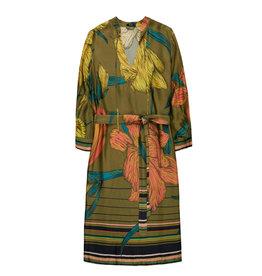 10 Feet Midi Length Moss Dress