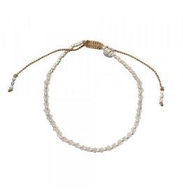 A beautiful Story Beautiful Rose Quartz Silver Bracelet