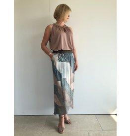 Gustav Denmark Silk Touch Printed Wrap Skirt