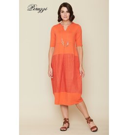 Peruzzi Jersey Pleat Dress