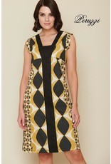 Peruzzi Cotton Print Dress
