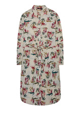 10 Feet Vintage Shirt Dress with knot details