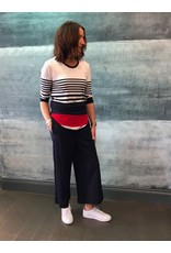 Peruzzi Long Sleeve 3 Striped Top