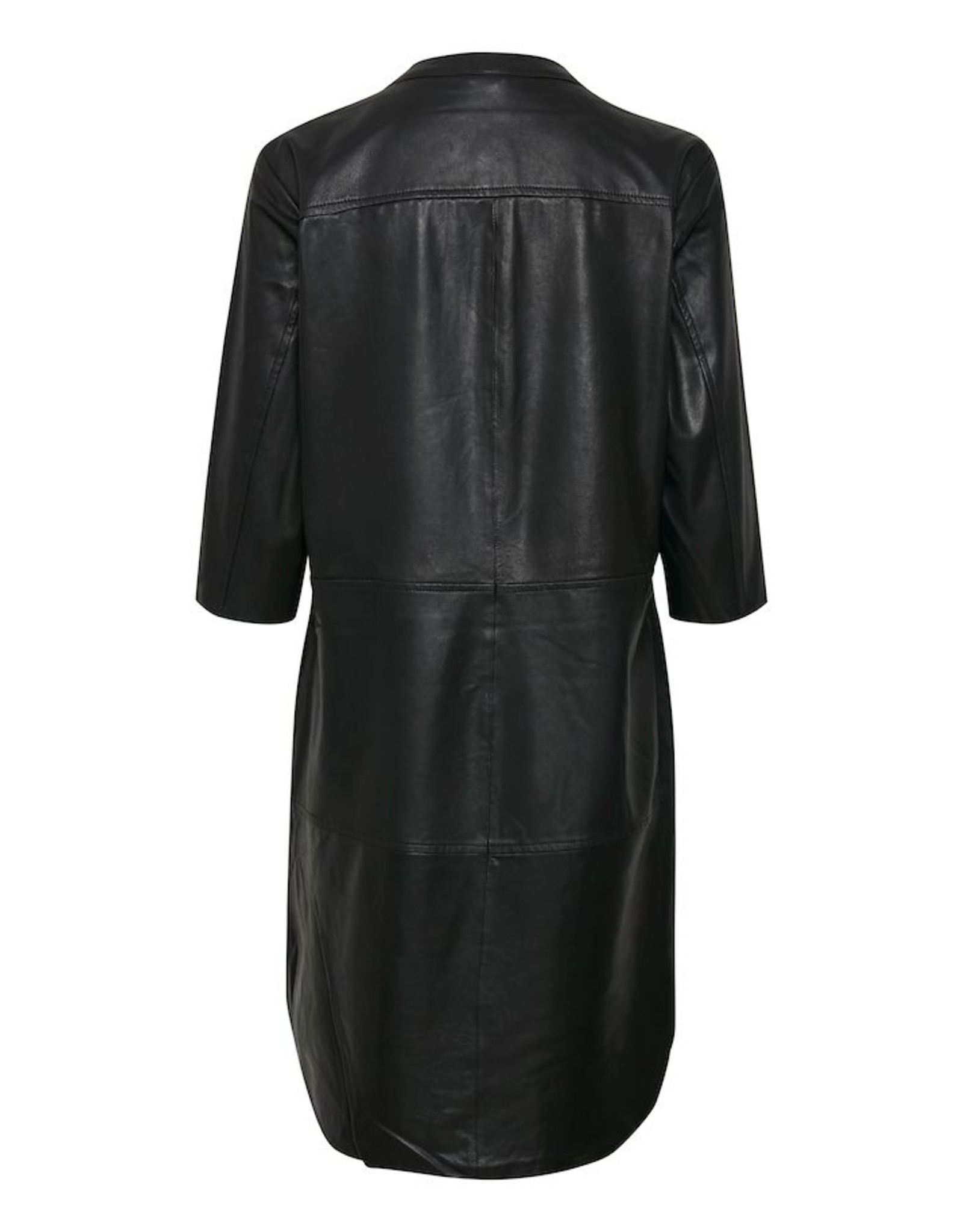 Culture CUALINA LEATHER DRESS