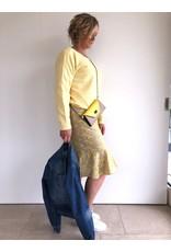 Fee G Embroidery Frill Hem Dress