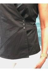 Peruzzi Cotton Button Top