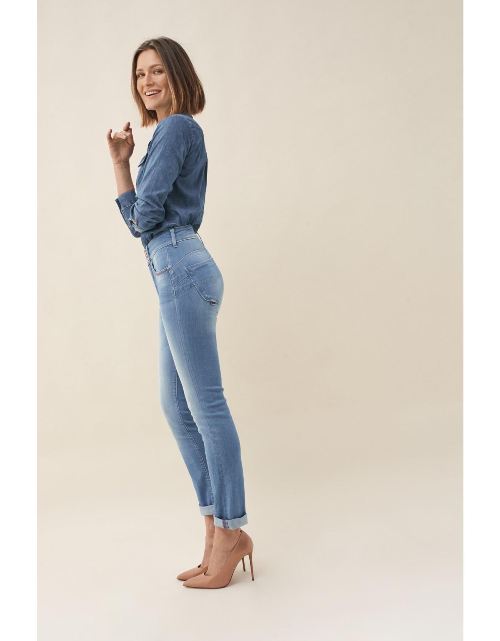 Salsa Jeans Secret Slim-Rainbow Thread on pocket
