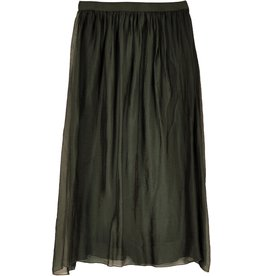La Fee Maraboutee Silk Touch Skirt With Soft Gathered Waist