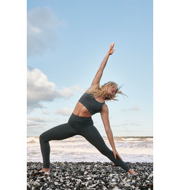 Gai & Lisva Sukha Supersoft Recycled Nylon Yoga Top