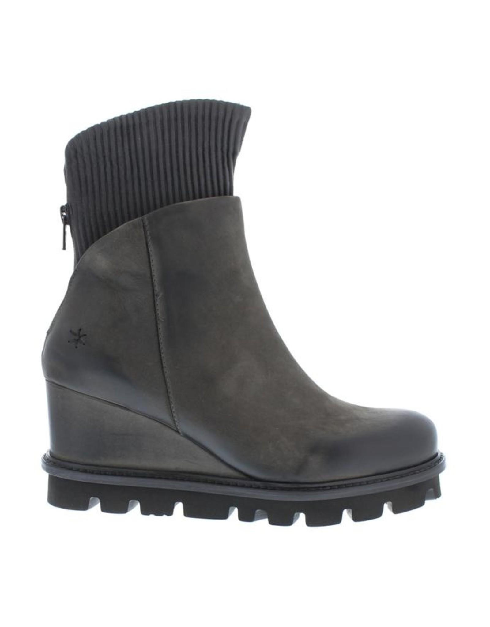 Patrizia Bonfanti Nana Nubuck Ankle Boots