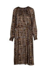 Nu Denmark Esma Patterned Dress Grey Mix