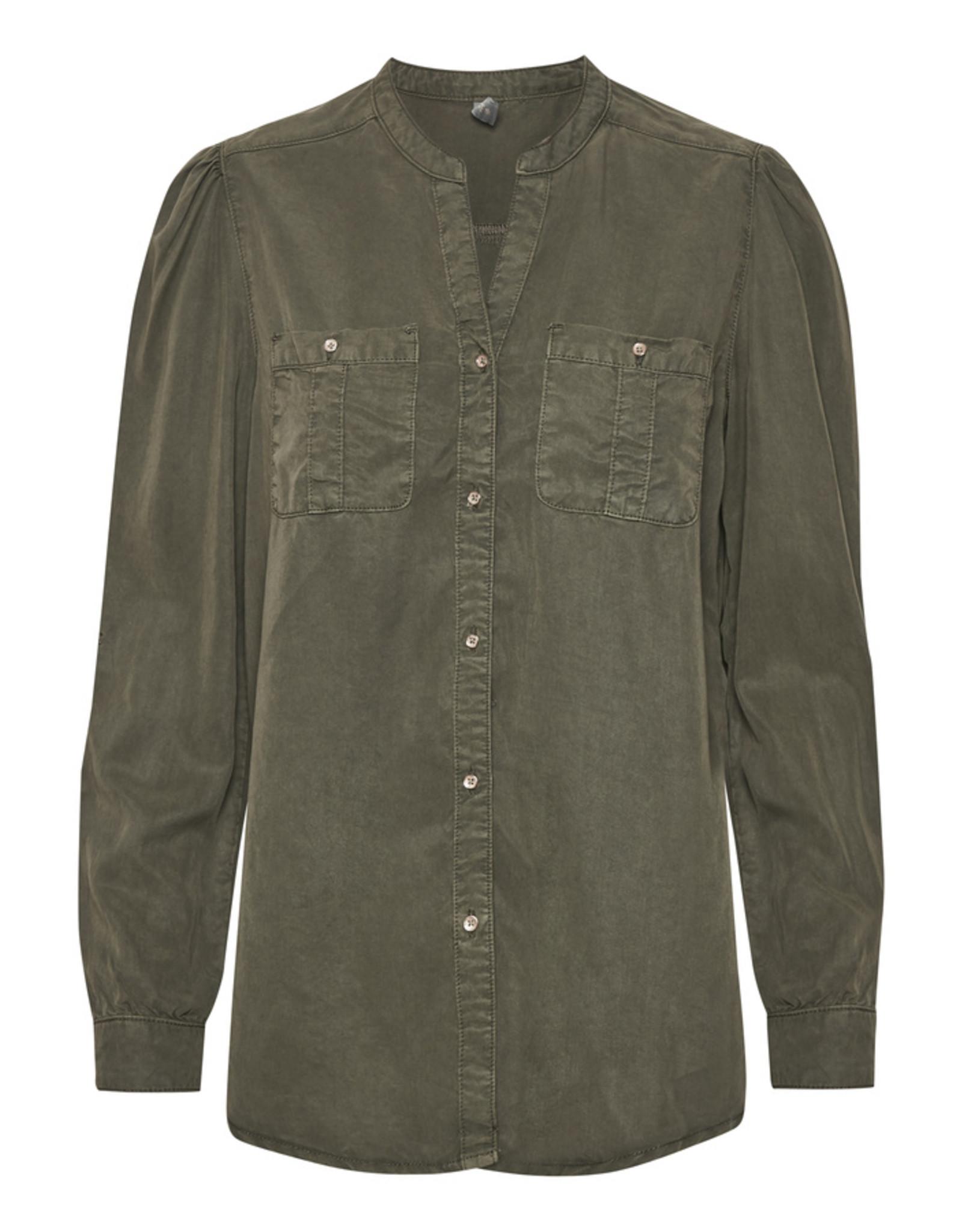 Culture Annelisa Olive Shirt