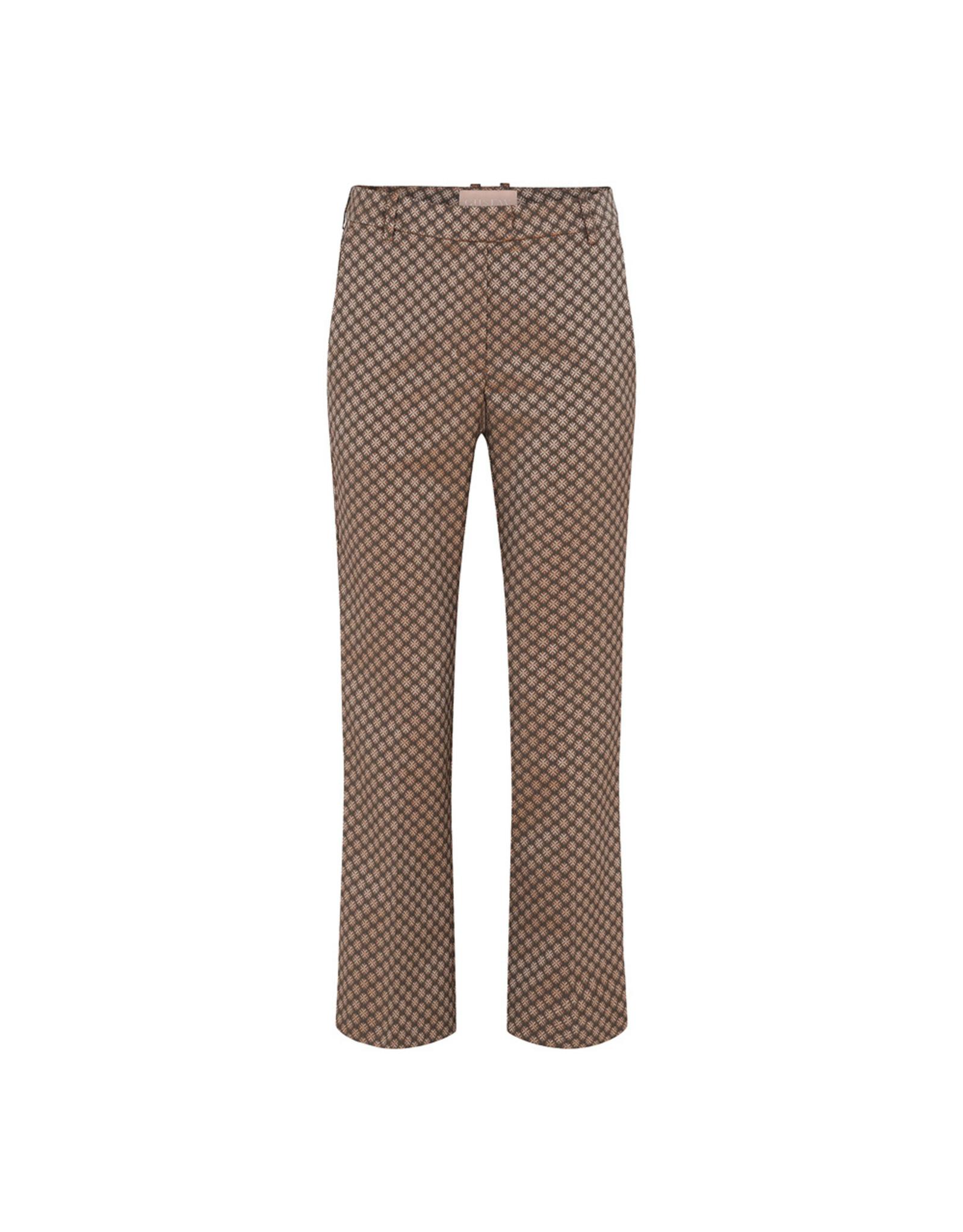 Gustav Denmark Avo 7/8 Flair Leg Reg. Waist Trousers