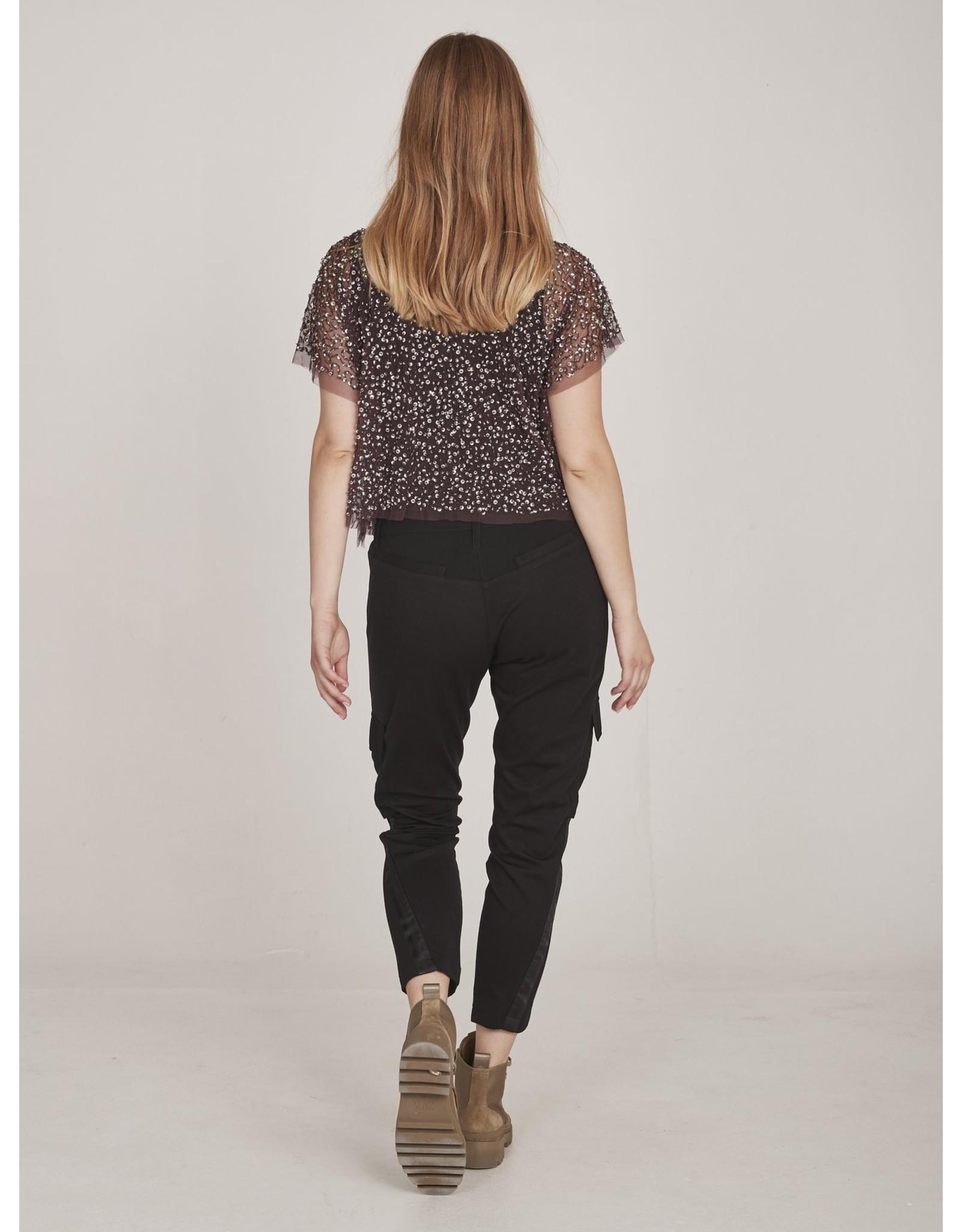 Nu Denmark Ea Baggy Black 7/8 Trousers