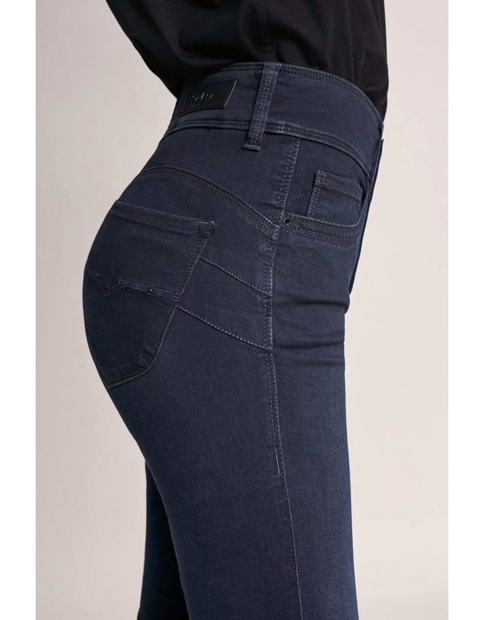 Salsa Jeans Push In Secret Skinny Soft Touch Jeans With Swarovski Crystals