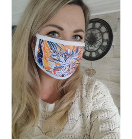 Catherine Eager Art Sunset Face Mask
