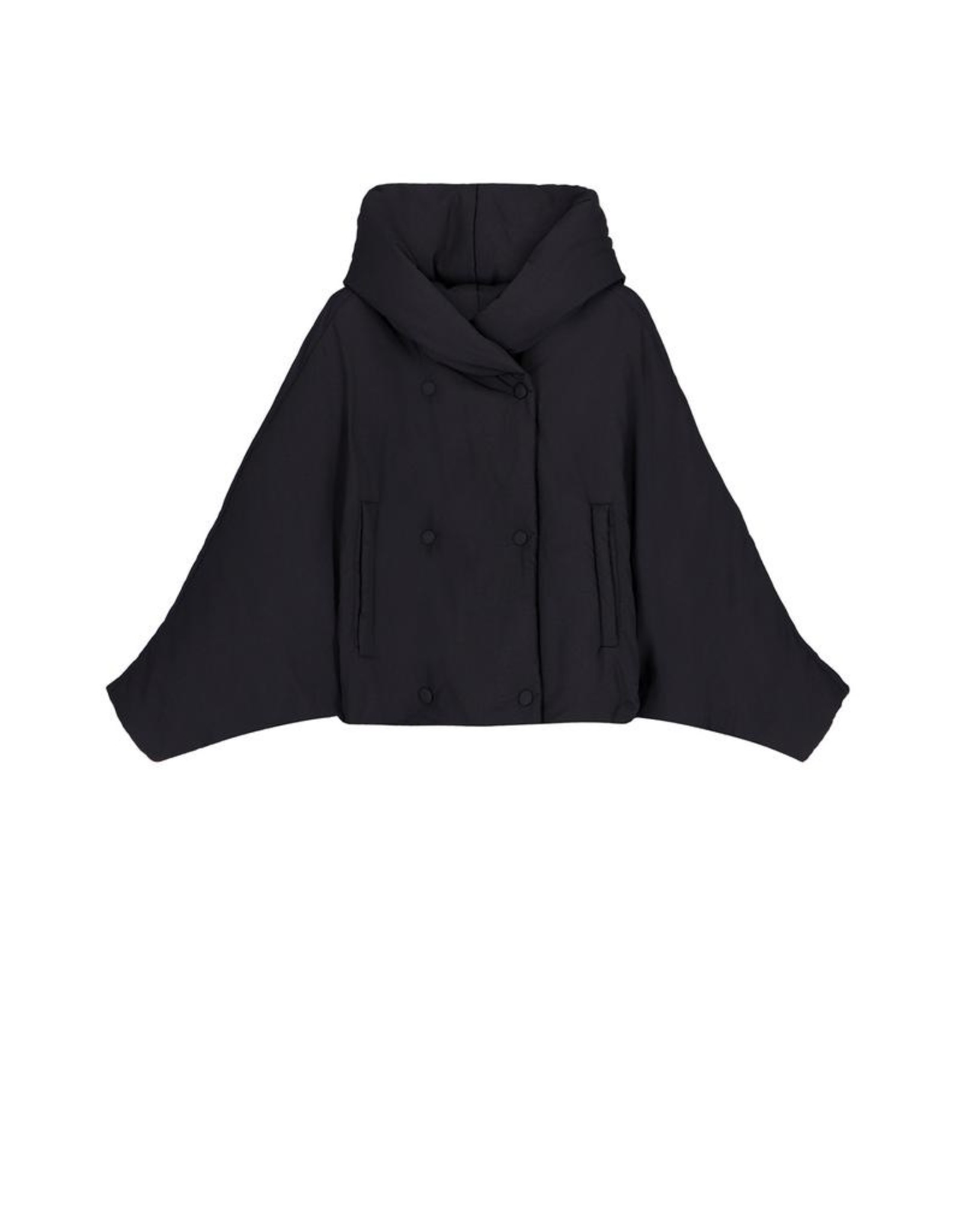 OOF Short Bat wing hooded jacket