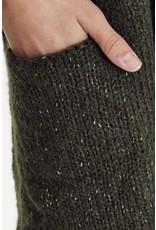 ICHI Ichi - Lines Long Cardigan - 20110181